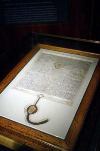Australia's copy of the Magna Carta