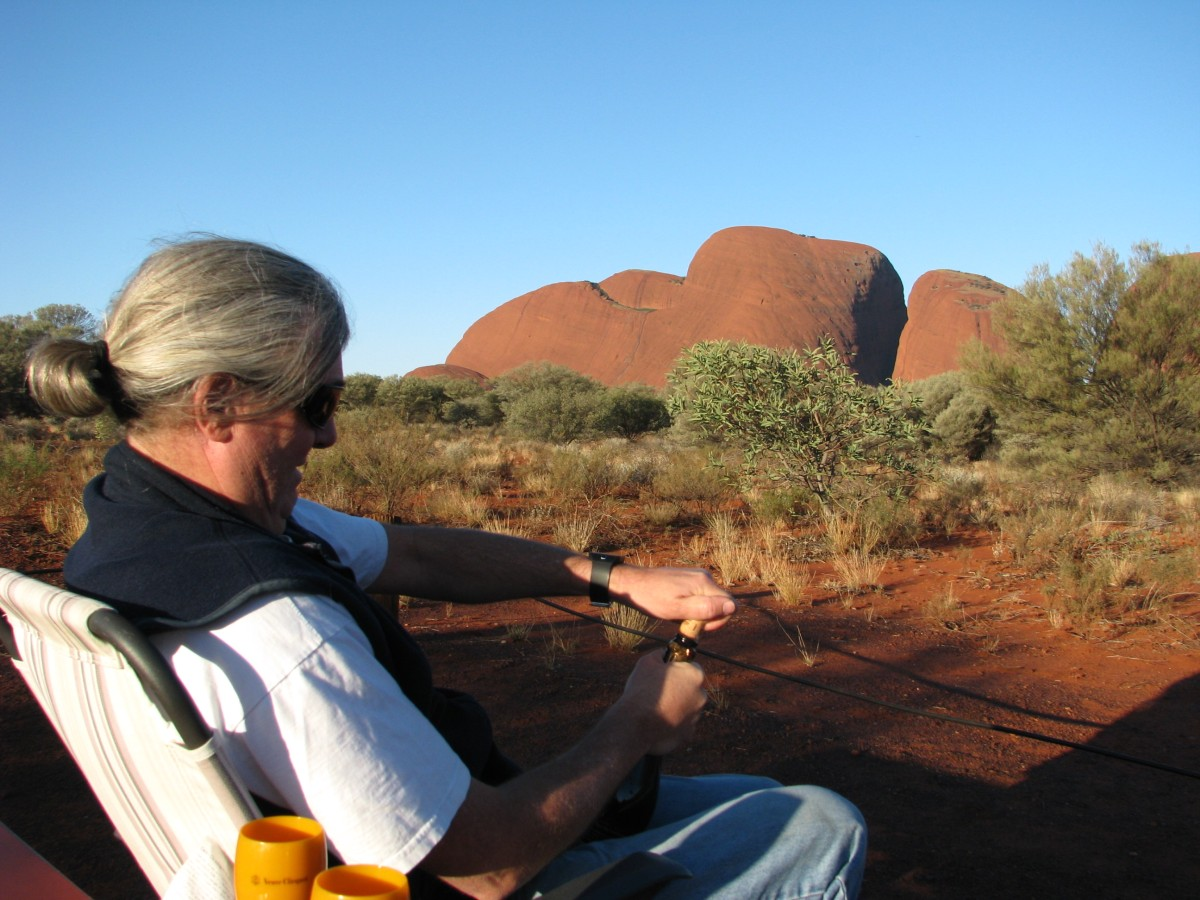 The right way to watch Kata Tjuta at sunset